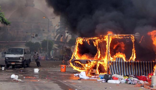 تصاویری تکان دهنده از پایتخت مصر
