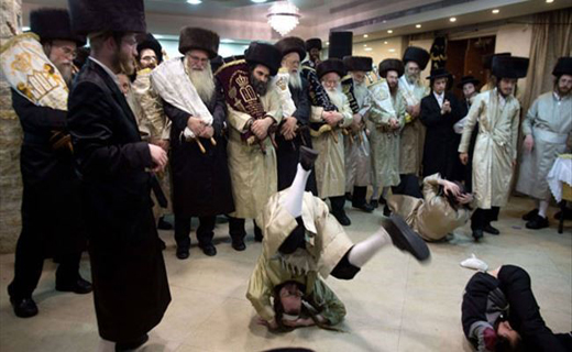 عجیبترین رقص یهود+عکس