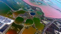دریاچه+نمک+رنگارنگ (9)